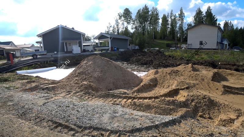 Как строят финны фундамент